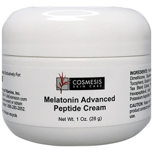 MELATONIN ADVANCED PEPTIDE CREAM - 1 OZ