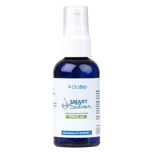 SMART SILVER TOPICAL GEL - 2 oz gel