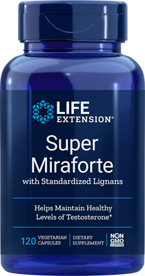 SUPER MIRAFORTE WITH STANDARDIZED LIGNANS - 120 Vegetarian Capsules