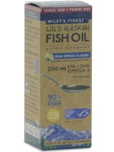 WILD ALASKAN PEAK FISH OIL 2 03 FL OZ