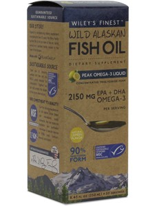 WILD ALASKAN PEAK FISH OIL 8.45 FL OZ