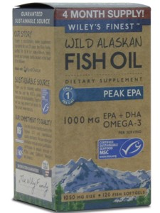 WILD ALASKAN PEAK EPA 120 SOFTGELS