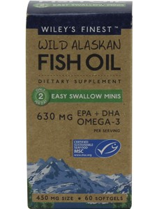 WILD ALASKAN FISH OIL 60 MINI SGELS
