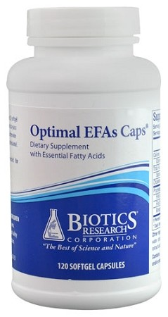 OPTIMAL EFAS CAPS -- 120 SOFTGEL CAPSULES