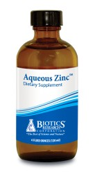 Aqueous Zinc  -- 4 fl oz FOR ZINC CHALLENGE TESTING