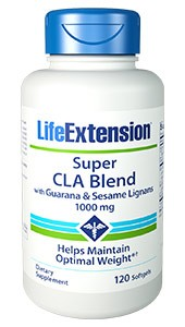 SUPER CLA BLEND WITH GUARANA AND SESAME LIGNANS-1000 mg, 120 softgels - DISCONTINUED