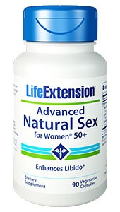 ADVANCED NATURAL SEX FOR WOMEN®50-90 vegetarian capsules