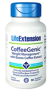 COFFEEGENIC® WEIGHT MANAGEMENT™ WITH GREEN COFFEE EXTRACT-90 vegetarian capsules