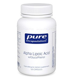 ALPHA LIPOIC ACID WITH GLUCOPHENOL®-120 capsules