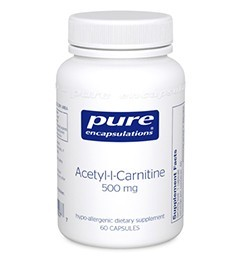 ACETYL-L-CARNITINE 500 MG-60 capsules