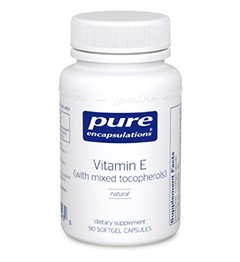 VITAMIN E (WITH MIXED TOCOPHEROLS)-90 capsules