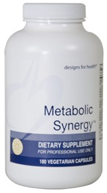 METABOLIC SYNERGY™ 180 vegetarian capsules