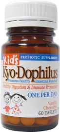 KIDS KYO-DOPHILUS  60 CHEWABLE TABLETS