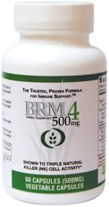 BRM4 500mg 60 VEGETABLE CAPSULES