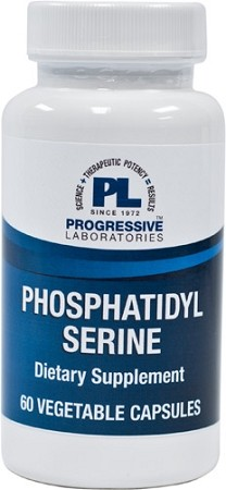 PHOSPHATIDYL SERINE  60 VEGETABLE CAPSULES