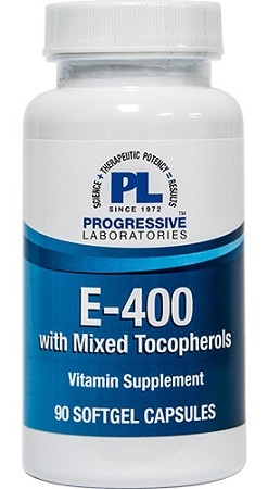 E-400 WITH MIXED TOCOPHEROLS 90 CAPSULES