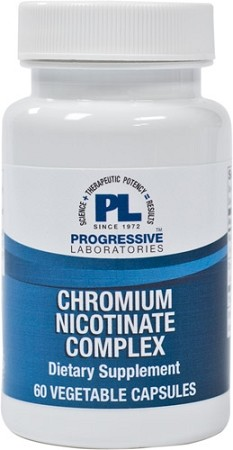 CHROMIUM NICOTINATE COMPLEX 60 VEGETABLE CAPSULES